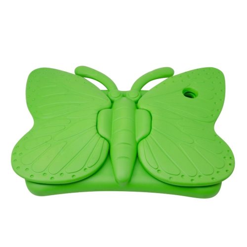 Shockproof Butterfly Foam Stand Case for Apple iPad Air 1/2 Tablet - Green