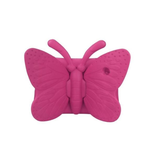 Shockproof Butterfly Foam Stand Case for Apple iPad 2/3/4 Tablet - Hot Pink