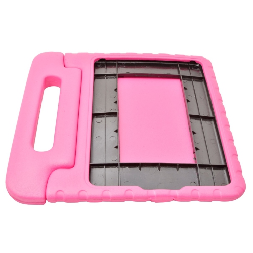 Kids Proof Safe Foam Shock Proof Handle Case Cover for Apple iPad Air / iPad Air 2 / iPad 5 (2017) - Hot Pink