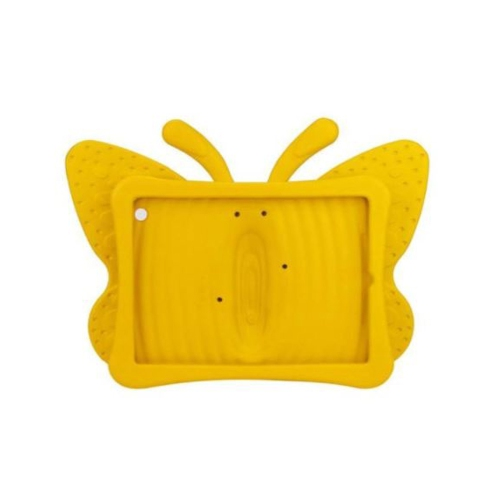 Shockproof Butterfly Foam Stand Case for Apple iPad 2/3/4 Tablet - Yellow