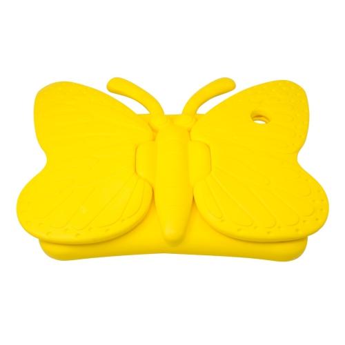 Caisse de support de mousse de papillon antichoc pour Apple iPad Air 1/2 Tablet - Jaune