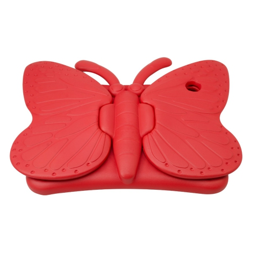 Shockproof Butterfly Foam Stand Case for Apple iPad Air 1/2 Tablet - Red
