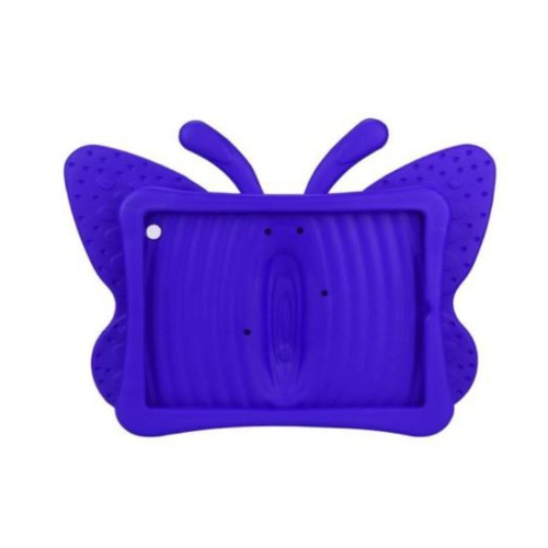 Shockproof Butterfly Foam Stand Case for Apple iPad 2/3/4 Tablet - Purple
