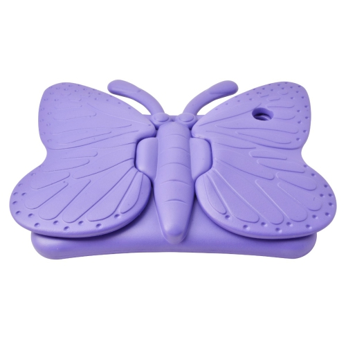 Shockproof Butterfly Foam Stand Case for Apple iPad Air 1/2 Tablet - Purple