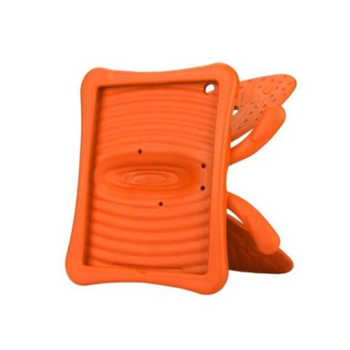 Shockproof Butterfly Foam Stand Case for Apple iPad 2/3/4 Tablet - Orange