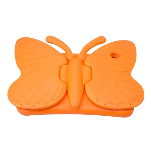 Shockproof Butterfly Foam Stand Case for Apple iPad Air 1/2 Tablet - Orange