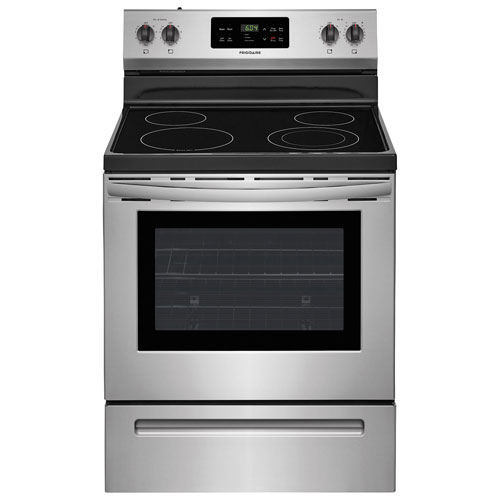 Electric Oven Open ~ Frigidaire quot cu ft self clean freestanding smooth