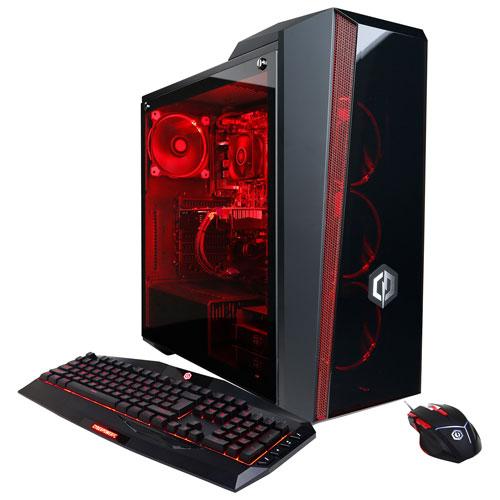 CyberPowerPC Gamer Master PC (AMD Ryzen 5 1600X/2TB HDD/8GB RAM/NVIDIA GeForce GTX 1060/Win 10)-Eng
