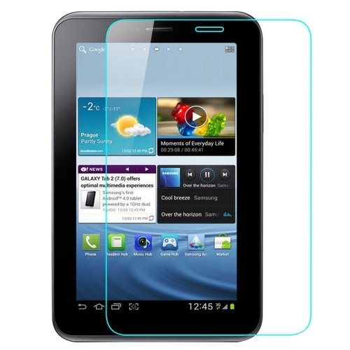 Tempered Glass Screen Protector for Samsung Galaxy Tab 2 7.0 P3100 Tablet - Clear