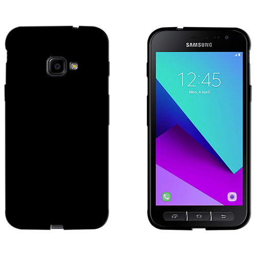 LBT Fitted Soft Shell Case for Galaxy Xcover 4 - Black