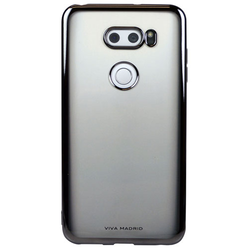 Viva Madrid Metalico Fitted Soft Shell Case for LG V30 - Gun Metal