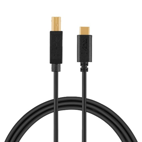 CableCreation ? USB 2.0 Type C (USB-C) to USB 2.0 B Male (USB-B) Cable for Printer & Scanner,6.6ft/2M in Black