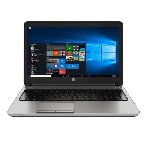 "HP ProBook 650 G1 Laptop, 15.6"" Screen, Intel Core i5, 8GB RAM, 320GB HDD, Windows 10 Pro, 1 Year Warranty- Refurbished"