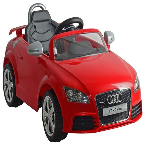 Red Audi TT Electric Ride On Remote Control Car With Lights And - Red audi