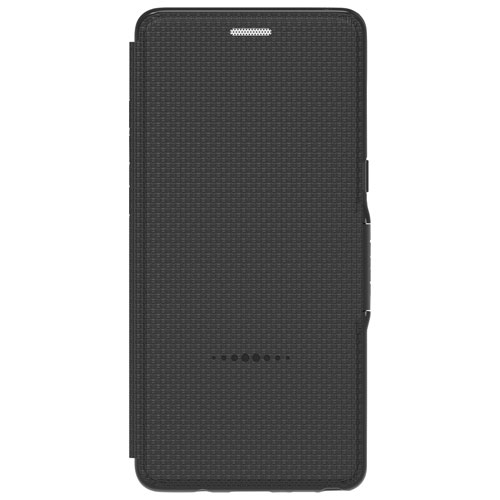 Gear4 Fitted Soft Shell Foilo Case for Samsung Galaxy Note8 - Black