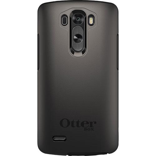Étui rigide ajusté Symmetry d'OtterBox pour G3 de LG - Noir