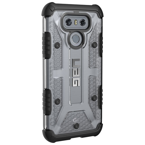 UAG Plasma Fitted Hard Shell Case for LG G6 - Clear