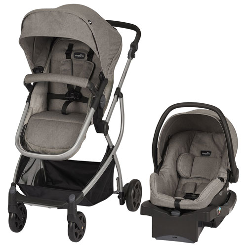 Evenflo Pursuit Standard Stroller With LiteMax Infant Car Seat