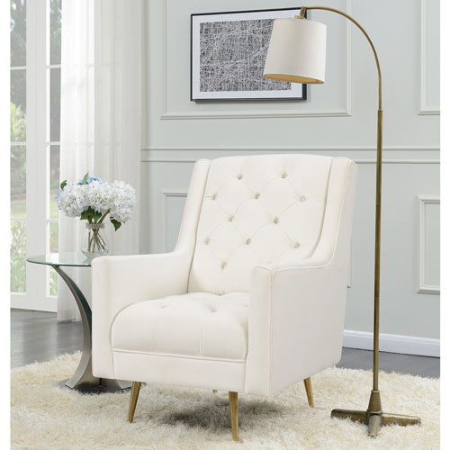 Brielle Polyester Tufted Accent Chair - Cream  Accent Chairs - Best Buy Canada & Brielle Polyester Tufted Accent Chair - Cream : Accent Chairs - Best ...
