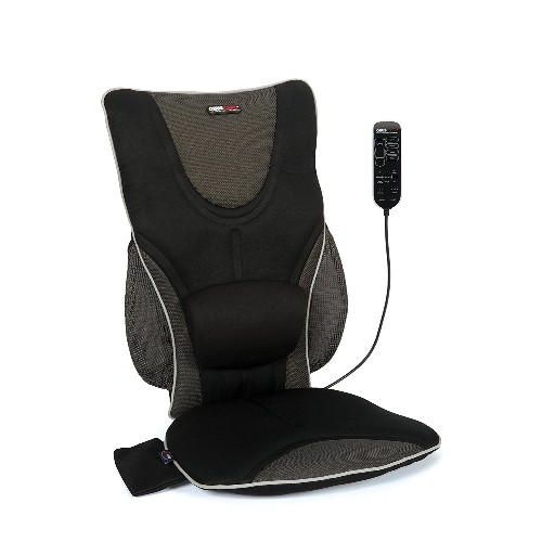 Obusforme Backrest Support Driver's Seat Office Cushion with Massage AC/DC Power