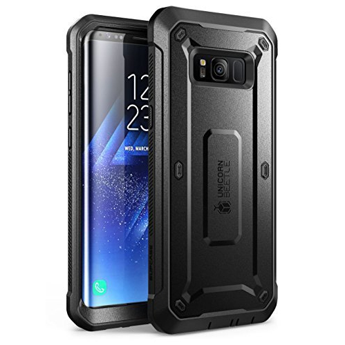 Galaxy S8 Case, SUPCASE Full-body Rugged Holster Case WITHOUT Screen Protector for Galaxy S8 (2017 Release), Unicorn Beetle PR