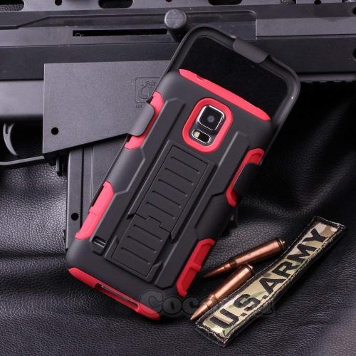 Galaxy S5 Active Case, Cocomii Robot Armor NEW [Heavy Duty] Premium Belt Clip Holster Kickstand Shockproof Hard Bumper Shell [