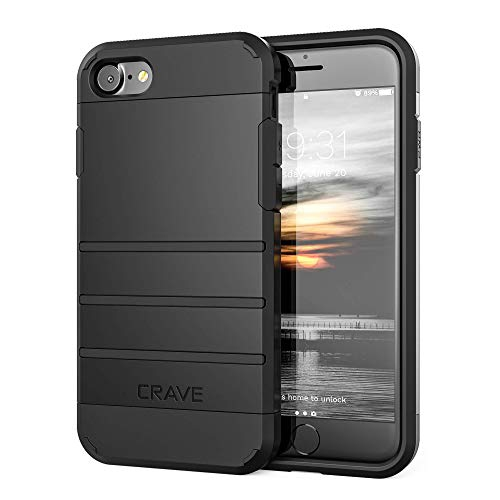 Iphone 8 Case Iphone 7 Case Crave Strong Guard Protection Case For Apple Iphone 8 7 4 7 Inch Black Iphone 8 Case Best Buy Canada