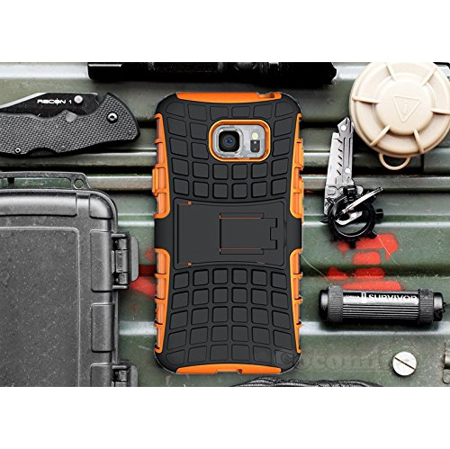 Galaxy S7 Edge Case, Cocomii Grenade Armor NEW [Heavy Duty] Premium Tactical Grip Kickstand Shockproof Hard Bumper Shell [Mili