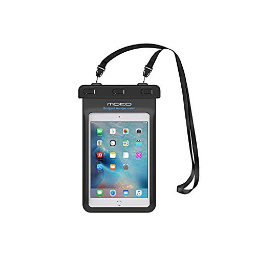 Universal Waterproof Tablet Case MoKo Dry Bag Pouch Compatible with iPad Mini Retina Mini 2 4 Tab 2 3 4 5 Tab S2 8.0 Tab