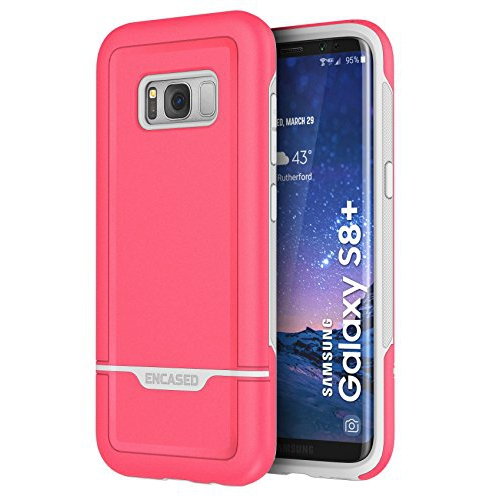 Encased Fitted Hard Shell Case for Samsung Galaxy S8 Plus - Pink