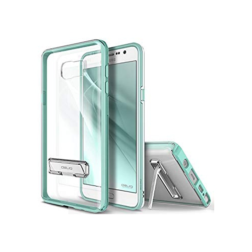 Galaxy Note 5 Case, OBLIQ [Naked Shield][Mint] - with Kickstand Thin Slim Fit TPU Bumper Hard Hybrid Shock Resist Protective C