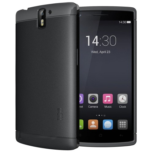 Tudia Fitted Soft Shell Case - Black