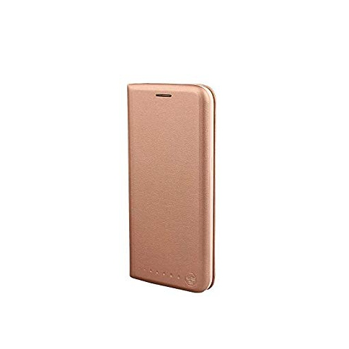 Nouske Samsung Galaxy S7 Edge Wallet Case with Credit Card Holder and Stand Shockproof PU leather Flip BumperRose Gold