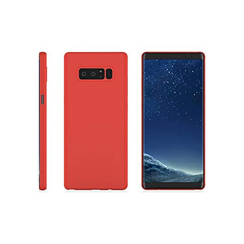 Galaxy Note 8 MNML Thin Case (Red)