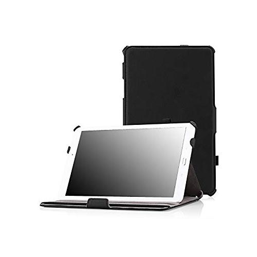 MoKo Tab E 9.6 Case - Slim-Fit Multi-angle Folio Cover for Samsung Galaxy Tab E / Tab E Nook 9.6 Inch 2015 Tablet (Fit Both Wi