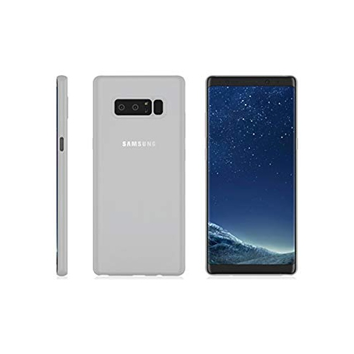 Galaxy Note 8 MNML Thin Case (Clear White)