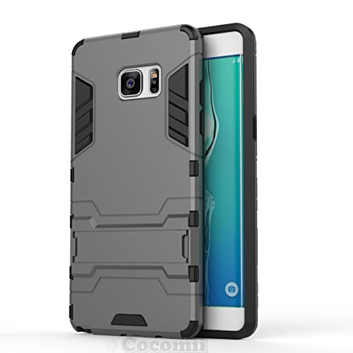 Galaxy Note 4 Case, Cocomii Iron Man Armor NEW [Heavy Duty] Premium Tactical Grip Kickstand Shockproof Hard Bumper Shell [Mili