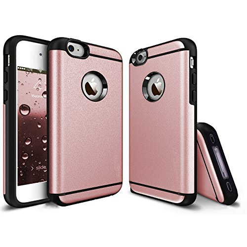 iPhone 4 Case, iPhone 4S Case, CHTech Fashion Double Layer Heavy Duty Protection Scratch Proof Armor Case Cover for Apple iPho