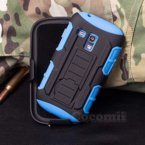 Galaxy S3 Mini Case, Cocomii Robot Armor NEW [Heavy Duty] Premium Belt Clip Holster Kickstand Shockproof Hard Bumper Shell [Mi