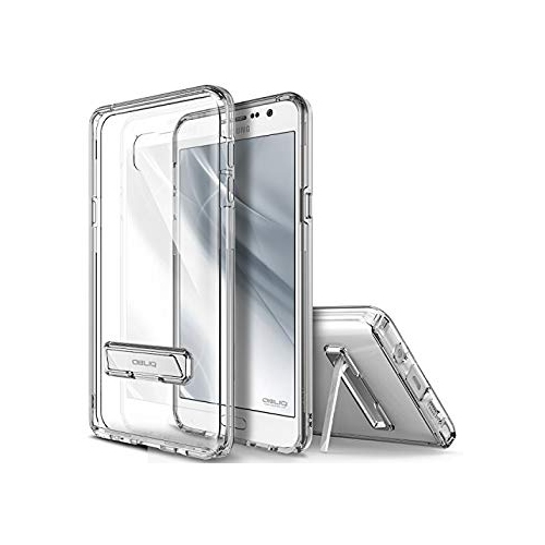 Galaxy Note 5 Case, OBLIQ [Naked Shield][Clear] - with Kickstand Thin Slim Fit TPU Bumper Hard Hybrid Shock Resist Protective