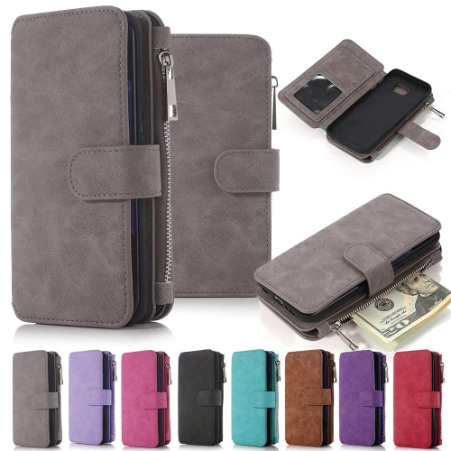 Galaxy Note 5 Case, Note 5 Case iNNEXT Note 5 Wallet Case Premium PU Leather Folio Book Style Multiple Card Slots Cash Pocket