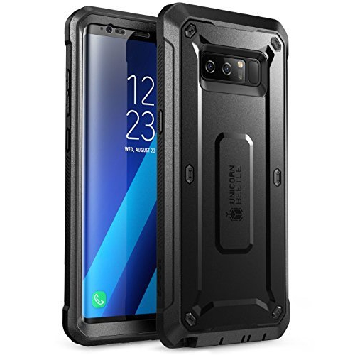 Samsung Galaxy Note 8 Case, SUPCASE Full-body Rugged Holster Case with Built-in Screen Protector for Galaxy Note 8 (2017 Relea