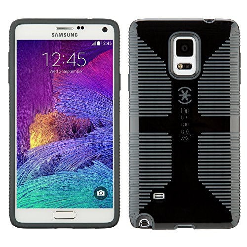 Speck Fitted Hard Shell Case for Samsung Galaxy Note 4 - Black;Slate Gray