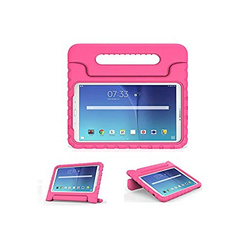 MoKo Tab E 9.6 Case - EVA Kids Shock Proof Convertible Handle Light Weight Stand Cover for Samsung Galaxy Tab E / Tab E Nook 9