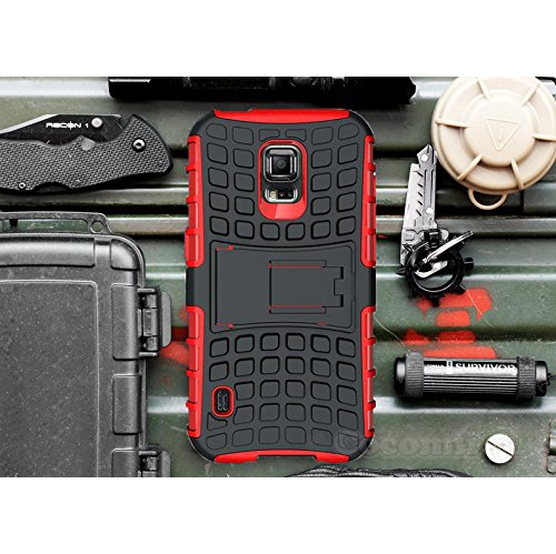 Galaxy S5 Active Case, Cocomii Grenade Armor NEW [Heavy Duty] Premium Tactical Grip Kickstand Shockproof Hard Bumper Shell [Mi