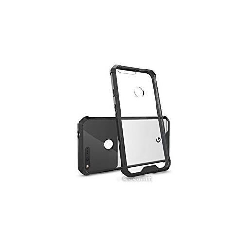 Google Pixel XL Case, Cocomii Modern Armor NEW [Crystal Clarity] Premium HD Clear Anti-Scratch Shockproof Hard Bumper Shell [S