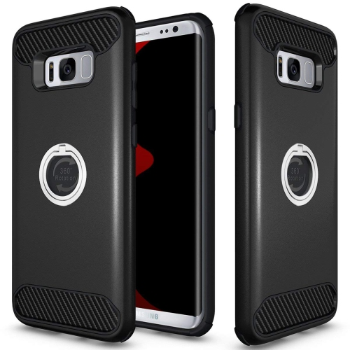 Galaxy S8 Plus Case, Samsung Galaxy S8 Plus Case, Jwest Shockproof Heavy Duty Kickstand Hybrid Protective Case with 360? Rotat