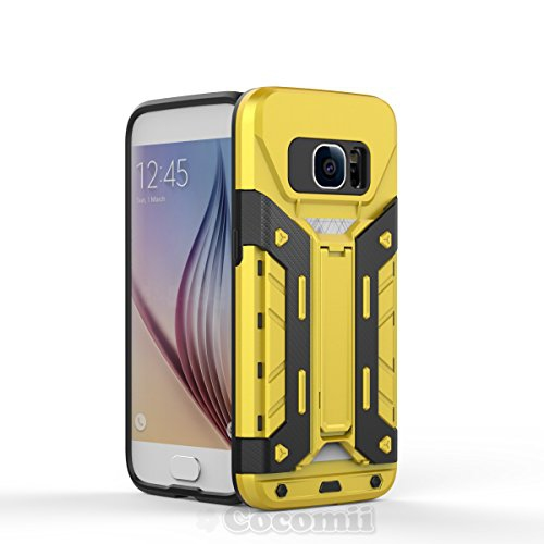 Galaxy S7 Case, Cocomii Transformer Armor NEW [Heavy Duty] Premium Built-in Multi Card Holder Kickstand Shockproof Hard Bumper