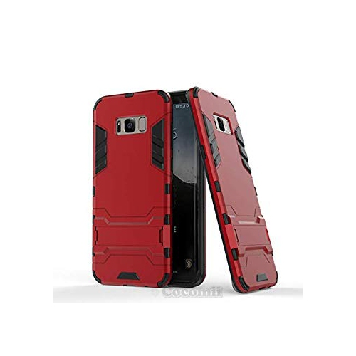 Galaxy S8 Plus Case, Cocomii Iron Man Armor NEW [Heavy Duty] Premium Tactical Grip Kickstand Shockproof Hard Bumper Shell [Mil