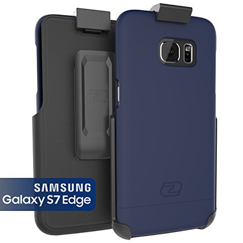 Samsung Galaxy S7 EDGE Case, Encased? Ultra-thin [SlimSHIELD] Case & Belt Clip Holster (2016) Ultimate Style + Protection (Dee